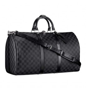 Louis Vuitton Keepall 55 With Shoulder Strap 1047