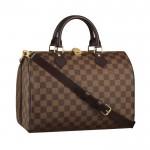 Louis Vuitton Speedy 30 Con Correa Para El Hombro 2356