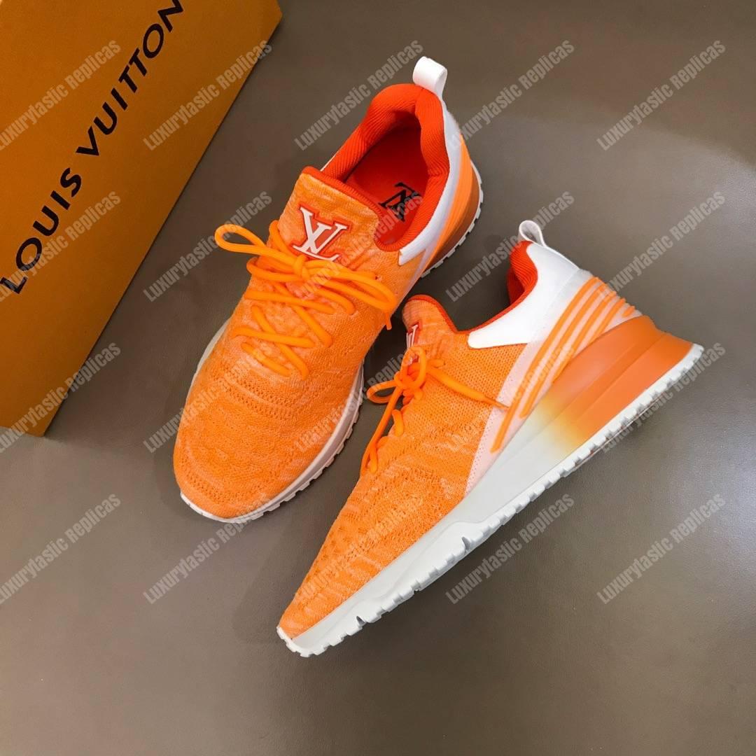 louis vuitton sneakers orange